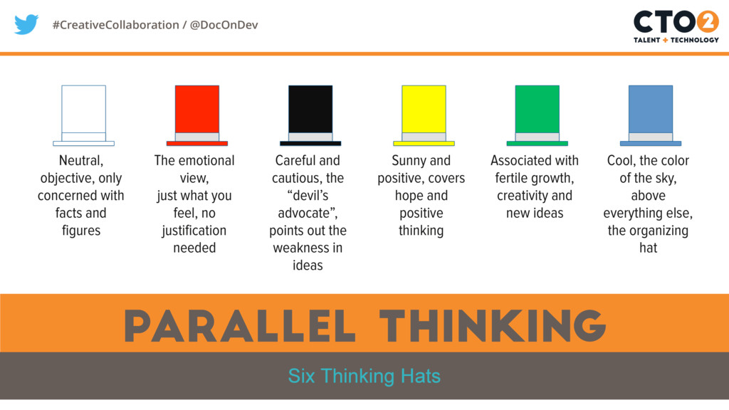 #CreativeCollaboration / @DocOnDev parallel thi...
