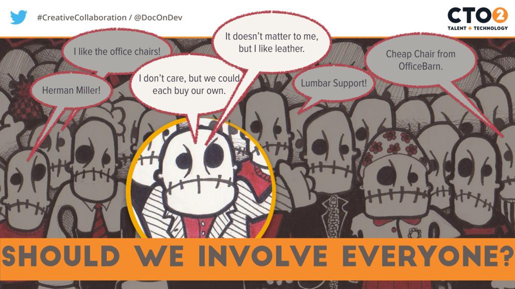 #CreativeCollaboration / @DocOnDev should we in...