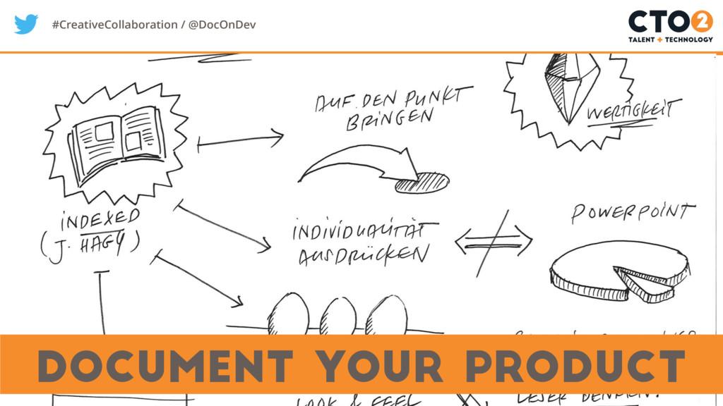 #CreativeCollaboration / @DocOnDev Document you...