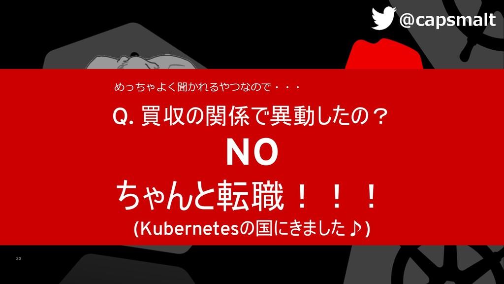 30 Q.   NO  (Kubernetes...