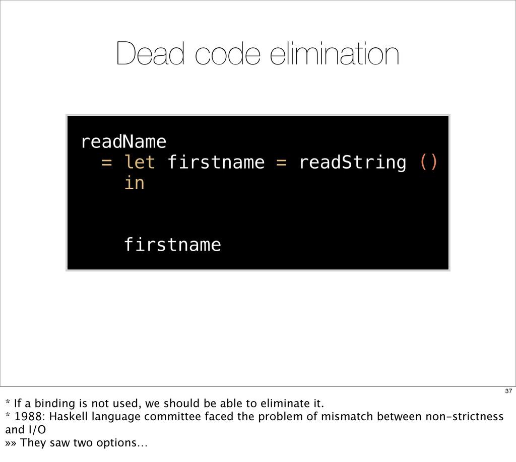 readName = let firstname = readString () in let...