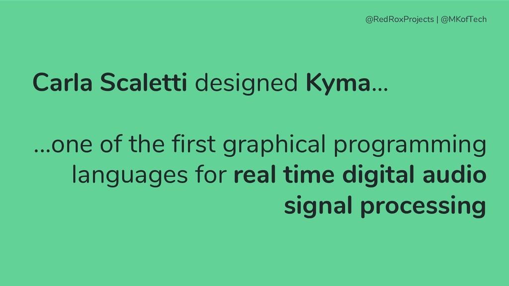 @RedRoxProjects   @MKofTech Carla Scaletti desi...