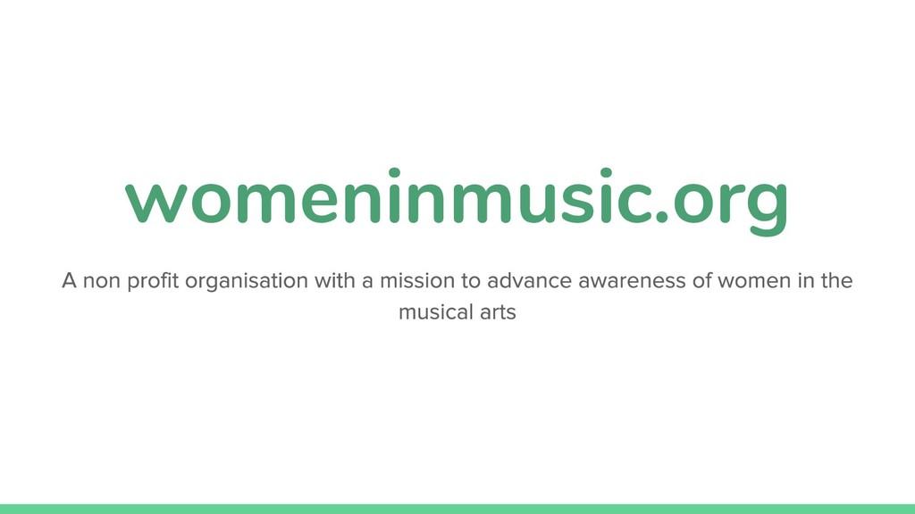 womeninmusic.org