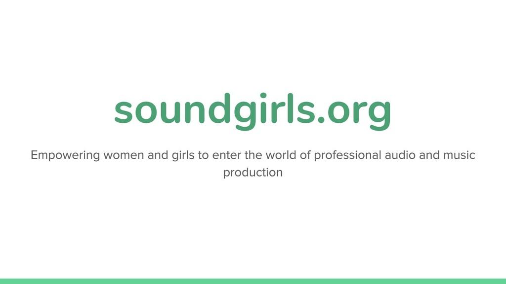 soundgirls.org