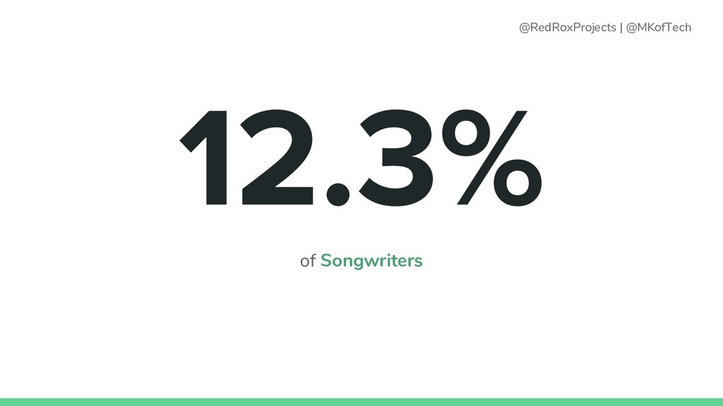 of Songwriters @RedRoxProjects   @MKofTech