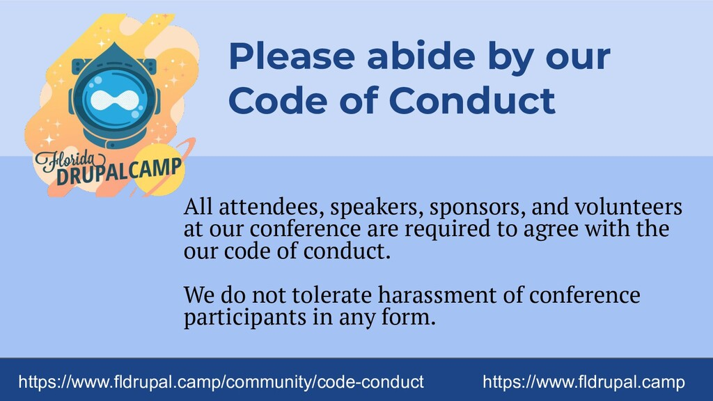 All attendees, speakers, sponsors, and voluntee...