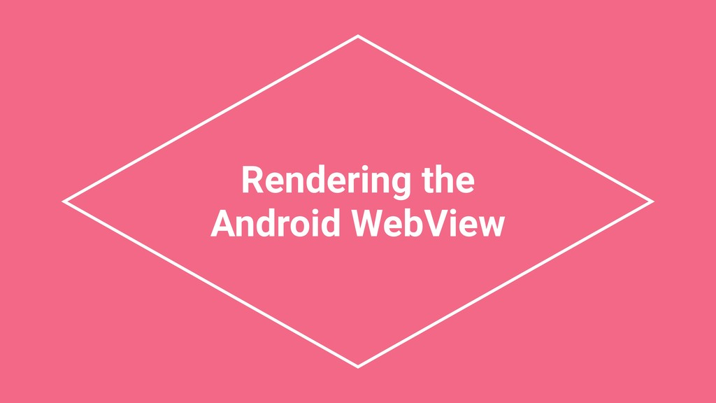 Rendering the Android WebView