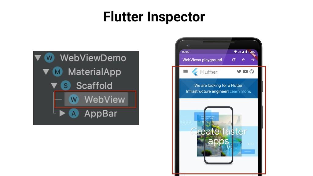 Flutter Inspector