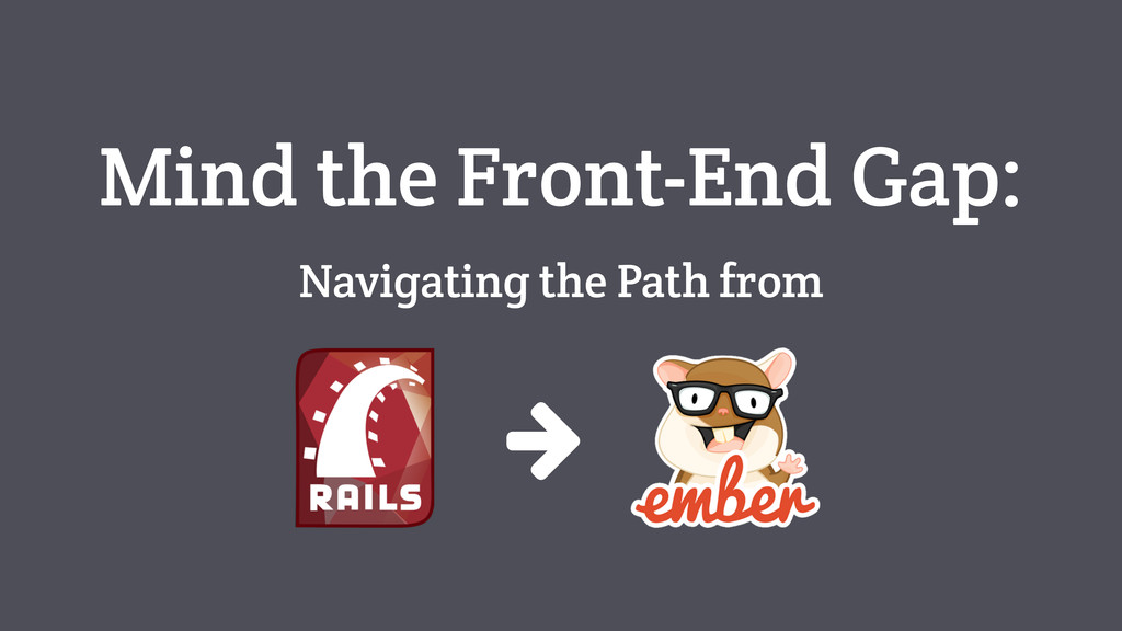 Mind the Front-End Gap: Navigating the Path from