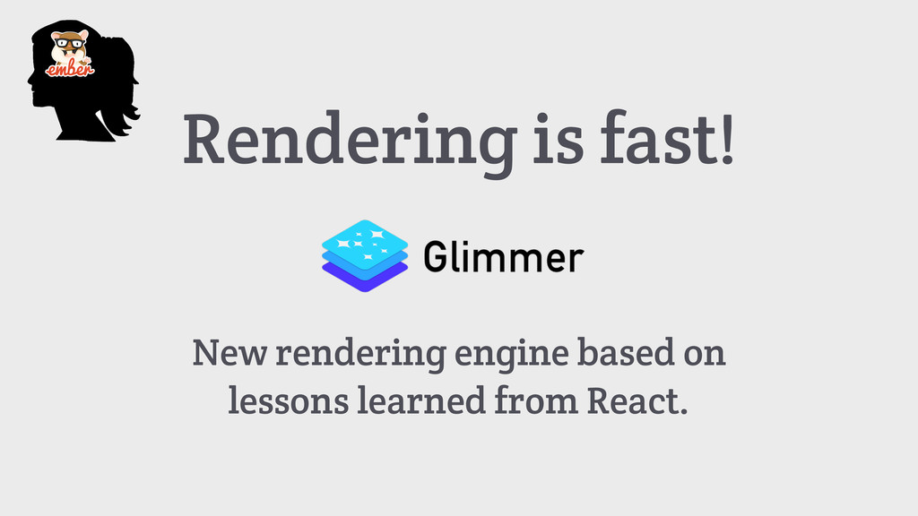 Rendering is fast! New rendering engine based o...