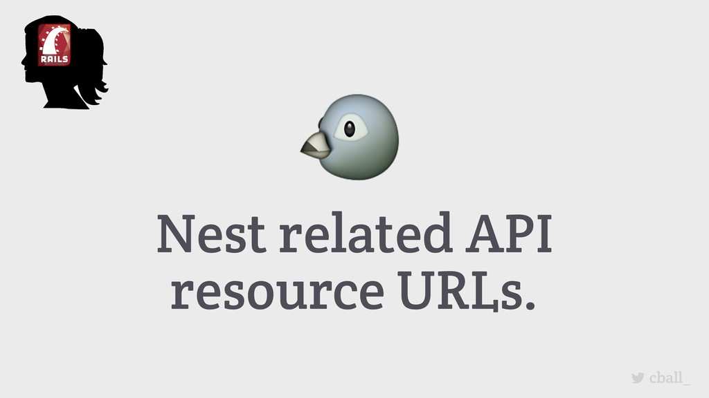 Nest related API resource URLs. cball_