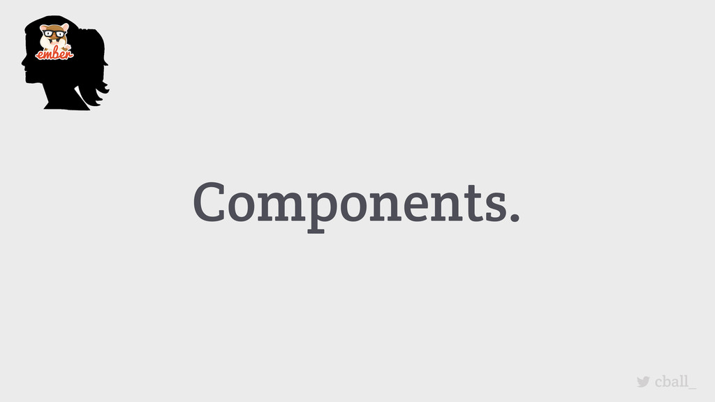 Components. cball_