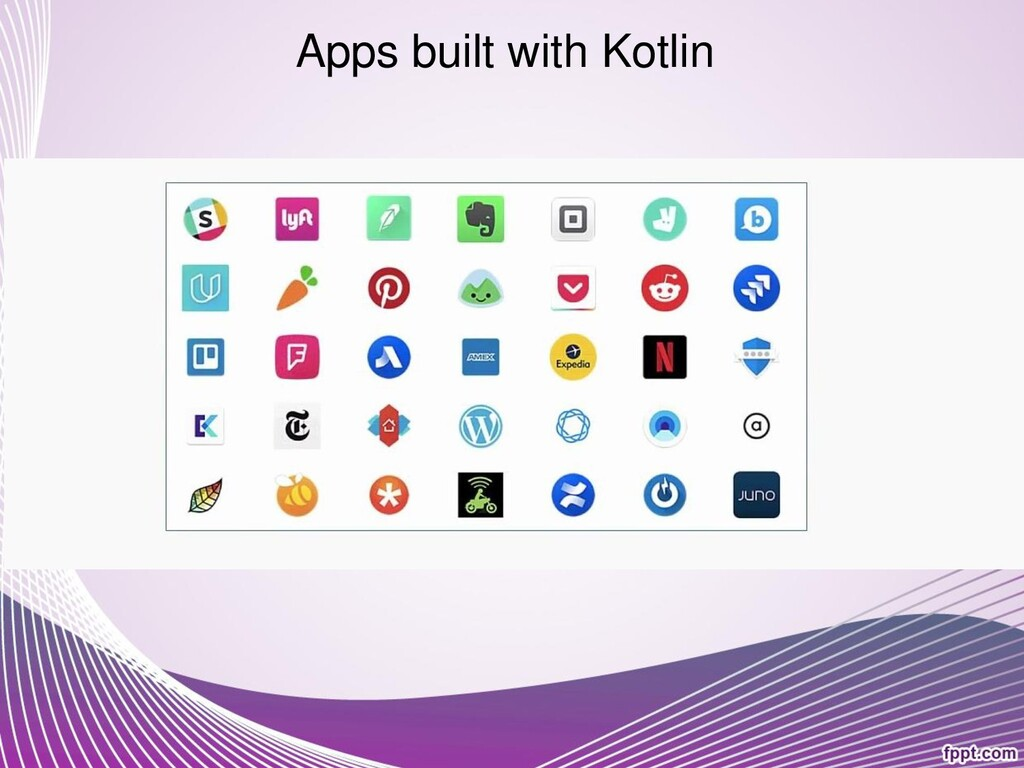 Apps built with Kotlin