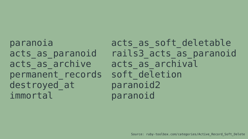 paranoia acts_as_paranoid acts_as_archive perma...