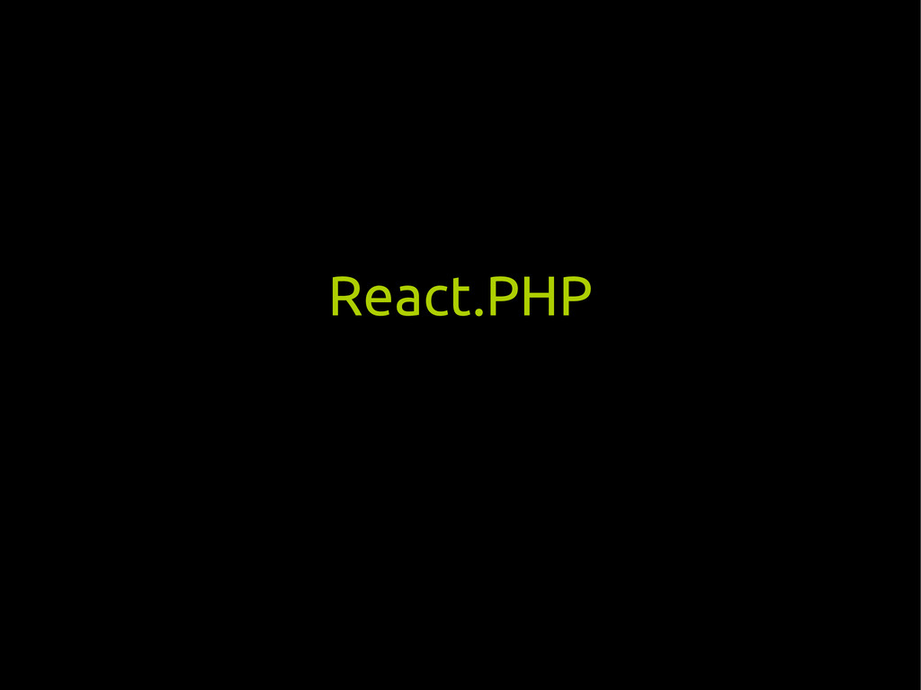 React.PHP