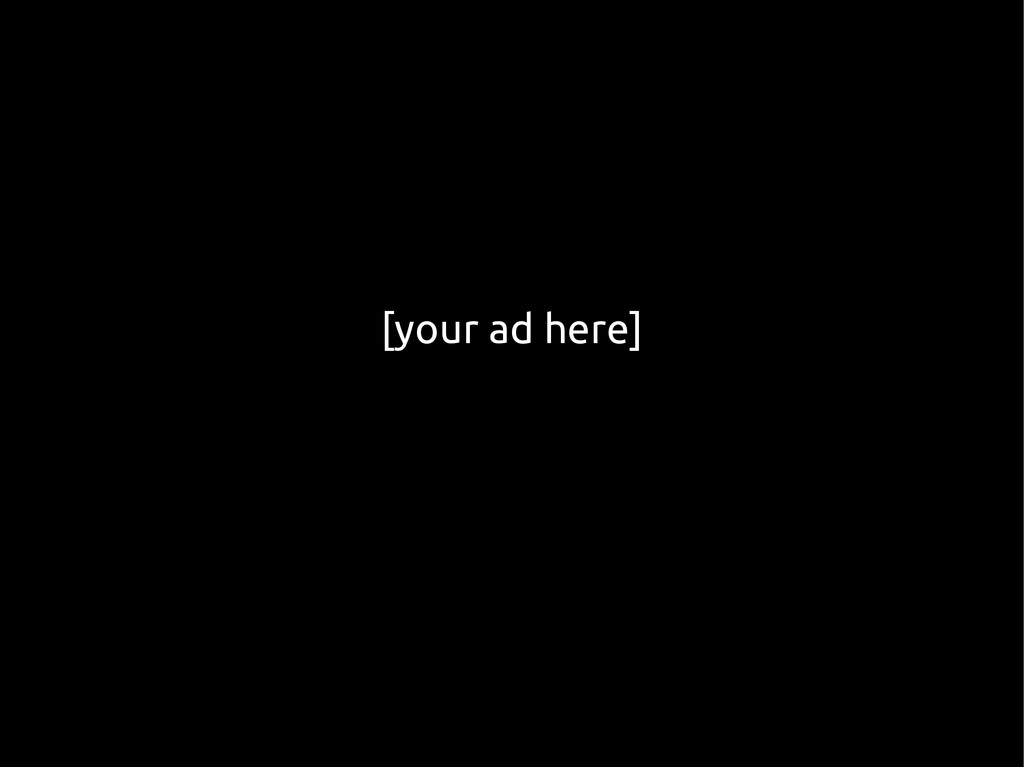 [your ad here]