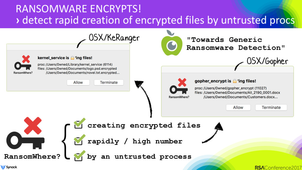 RANSOMWARE ENCRYPTS! › detect rapid creation of...