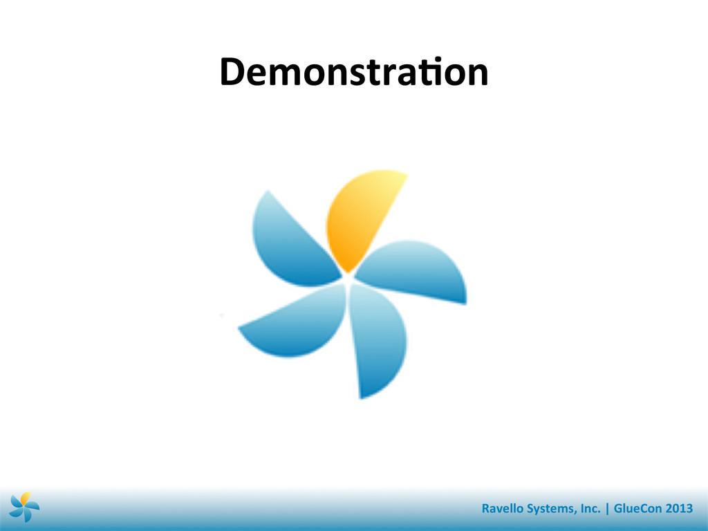 DemonstraSon  Ravello Systems, Inc. ...