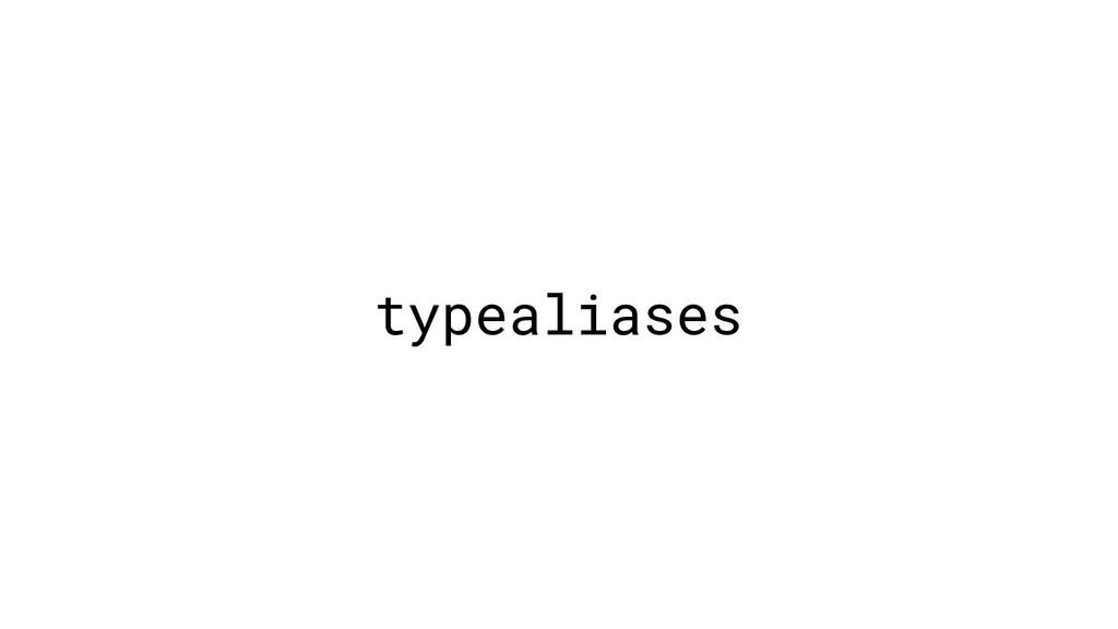 typealiases