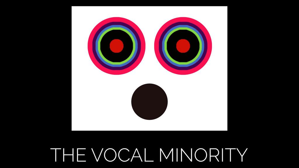 THE VOCAL MINORITY