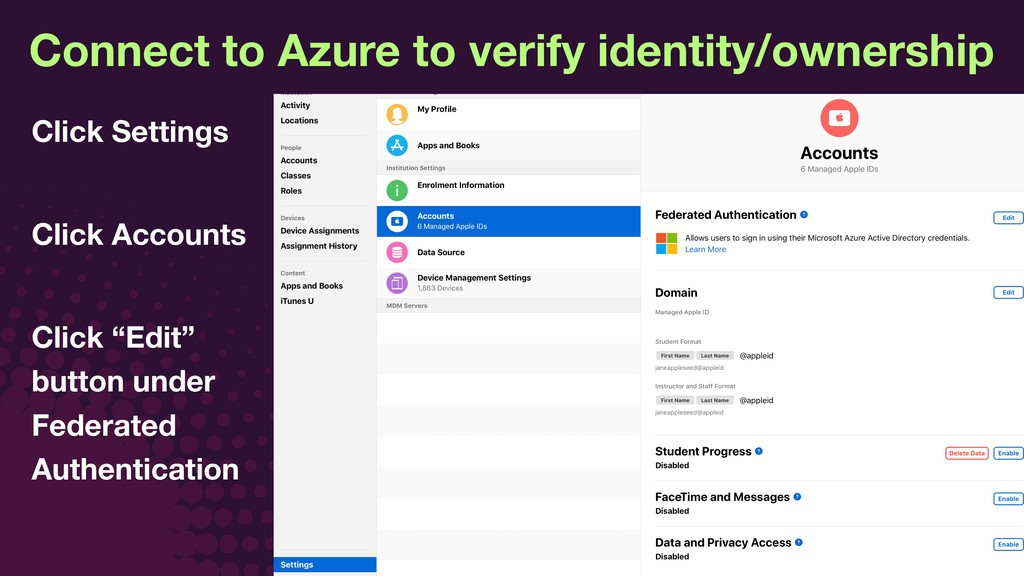 © JAMF Software, LLC Connect to Azure to verify...