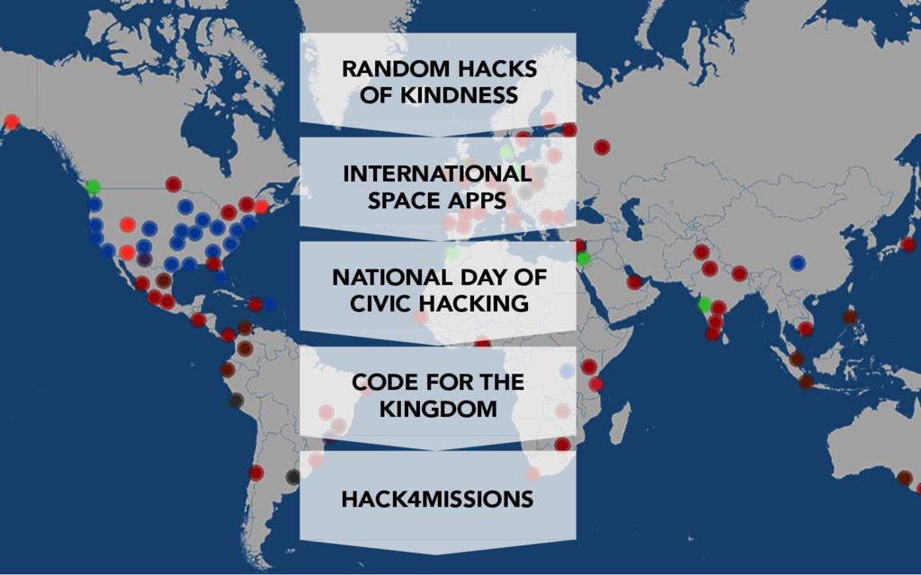 RANDOM HACKS OF KINDNESS INTERNATIONAL SPACE AP...