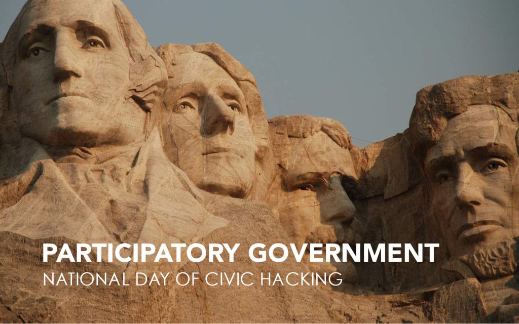 PARTICIPATORY GOVERNMENT NATIONAL DAY OF CIVIC ...