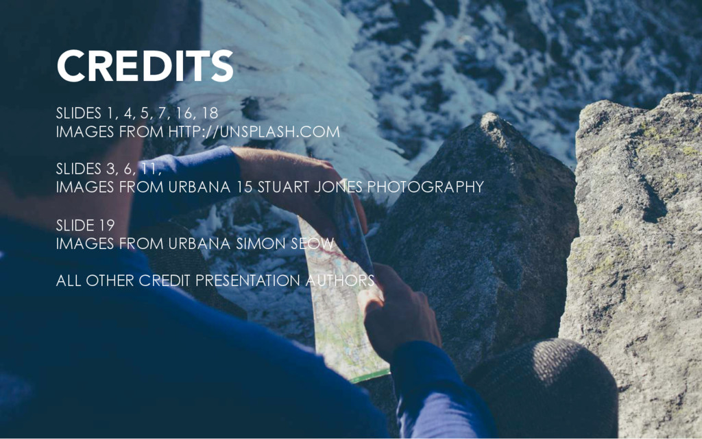 CREDITS SLIDES 1, 4, 5, 7, 16, 18 IMAGES FROM H...