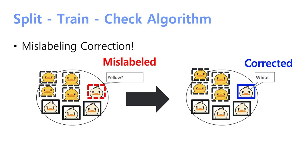 Split - Train - Check Algorithm • Mislabeling C...