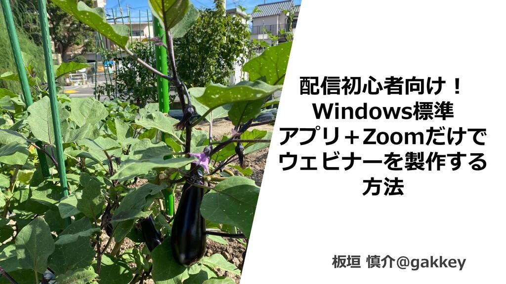 0 配信初心者向け! Windows標準 アプリ+Zoomだけで ウェビナーを製作する 方法 ...