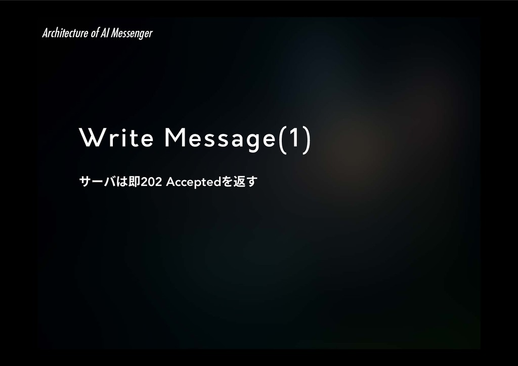 Write Message(1) ؟٦غכ⽯202 Accepted׾鵤ׅ Archite...