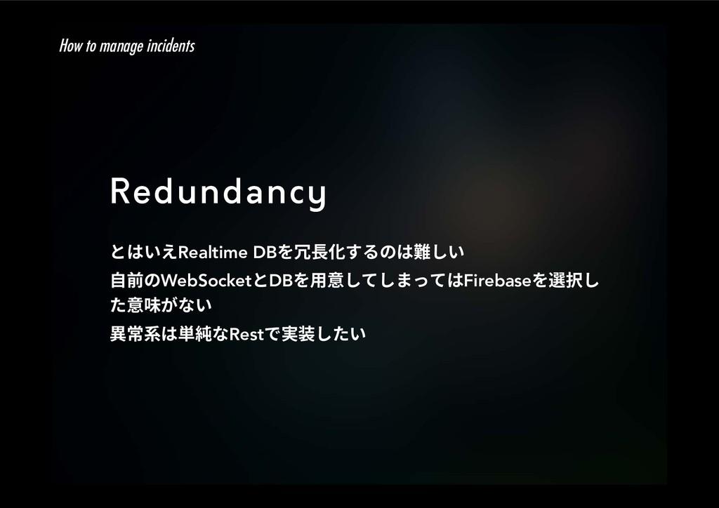Redundancy הכְִRealtime DBⱔꞿ⻉ׅךכꨇ׃ְ 荈ךWebSo...