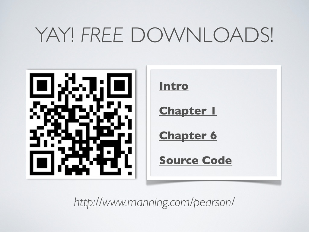 YAY! FREE DOWNLOADS! Intro Chapter 1 Chapter 6 ...