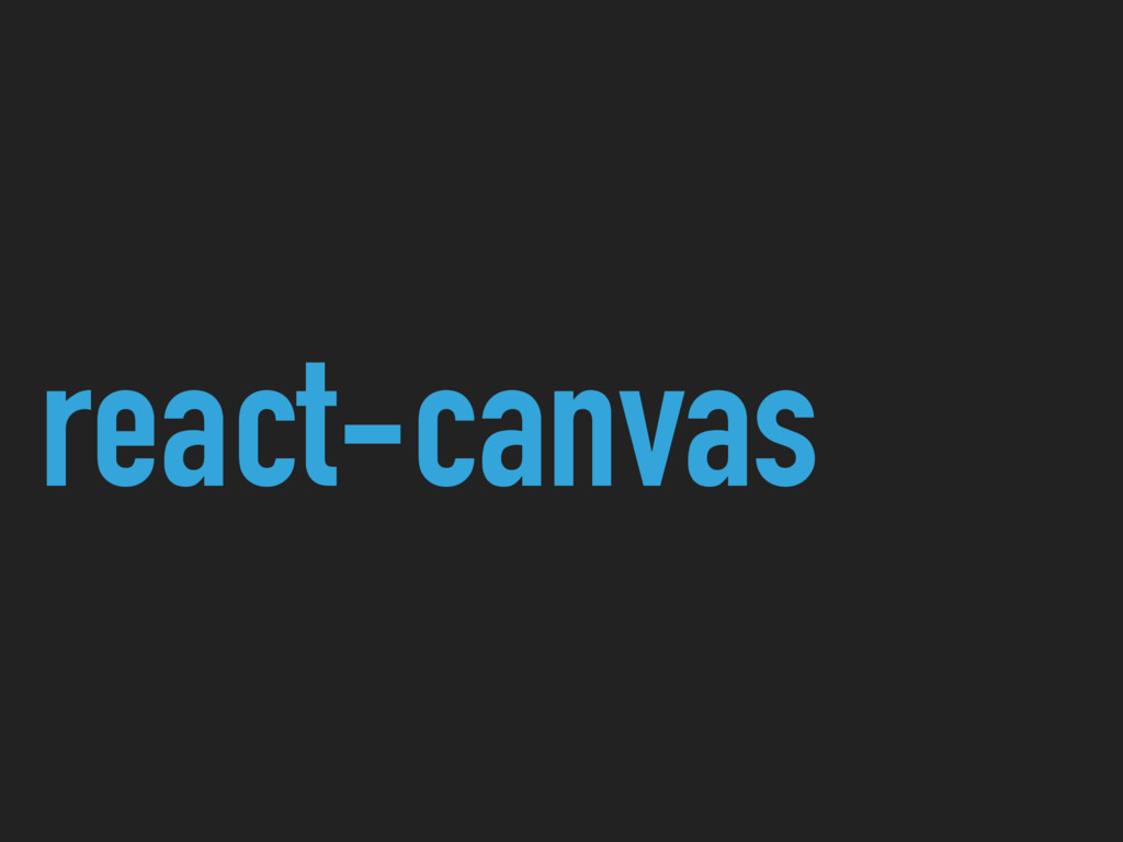 react-canvas