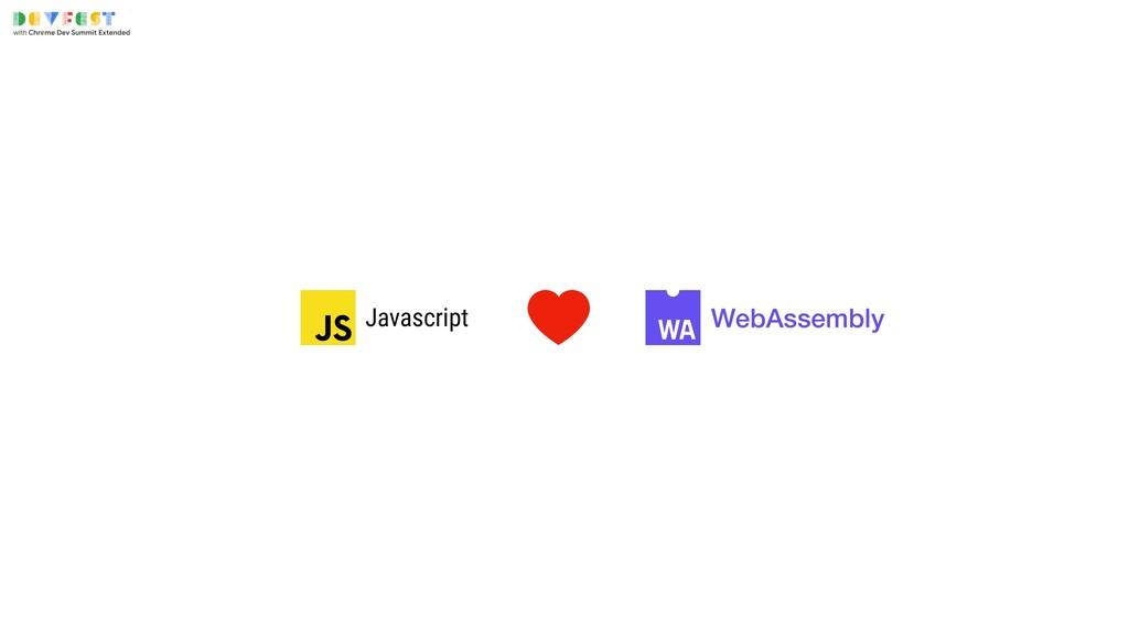 WebAssembly Javascript