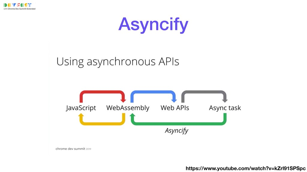 Asyncify https://www.youtube.com/watch?v=kZrl91...