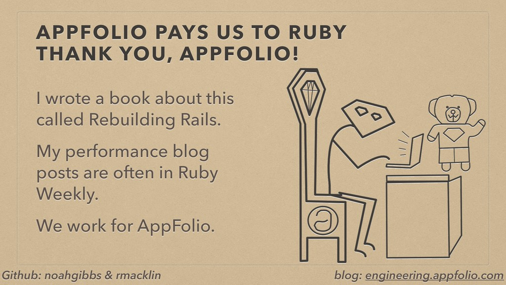 APPFOLIO PAYS US TO RUBY