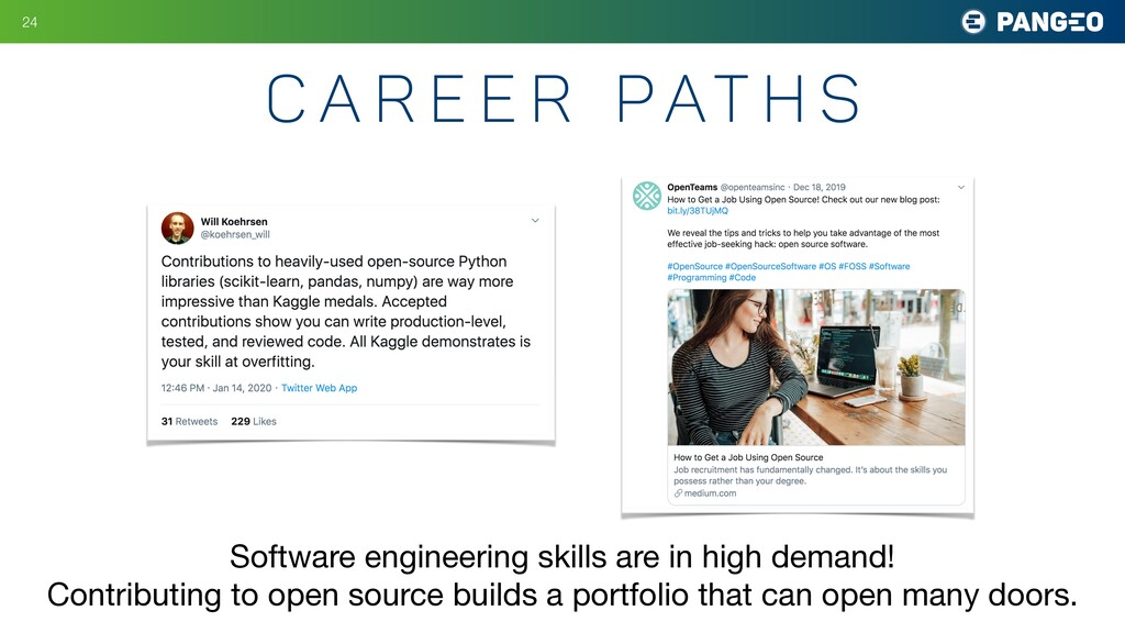 C a r e e r Pat h s !24 Software engineering sk...