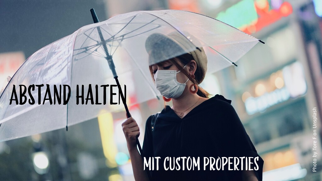 mit CUstom pRopErtieS AbstaNd haLtEn Photo by T...