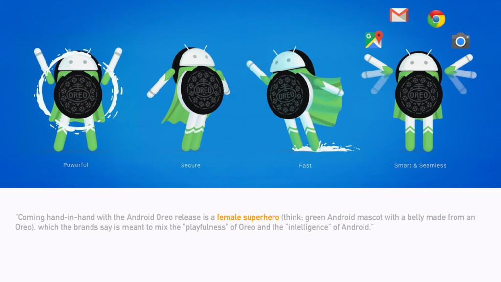 """""""Coming hand-in-hand with the Android Oreo rele..."""