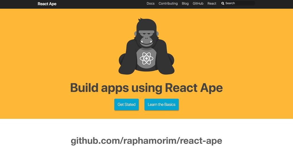 github.com/raphamorim/react-ape
