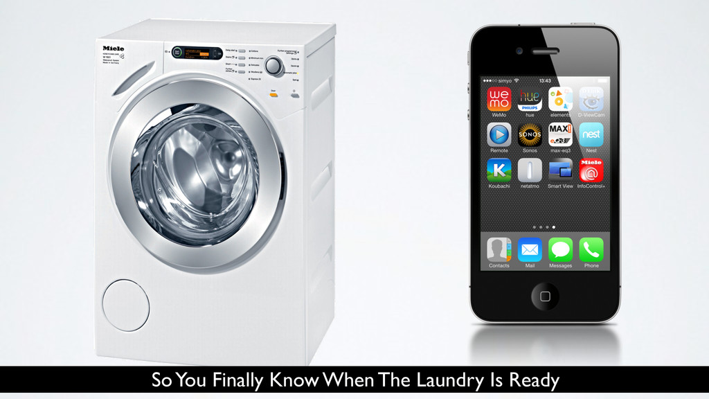 So You Finally Know When The Laundry Is Ready