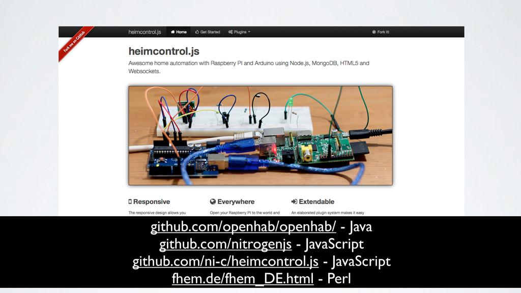 github.com/openhab/openhab/ - Java github.com/n...