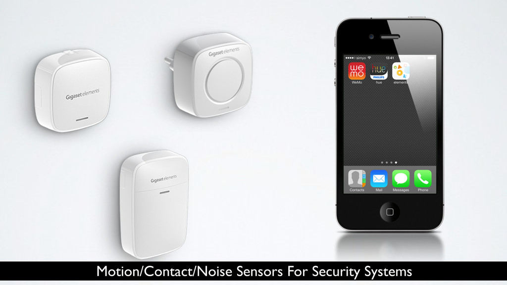 Motion/Contact/Noise Sensors For Security Syste...
