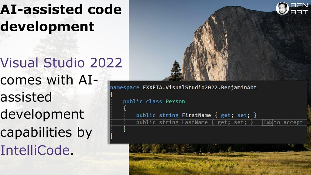 Visual Studio 2022 comes with AI-assisted devel...