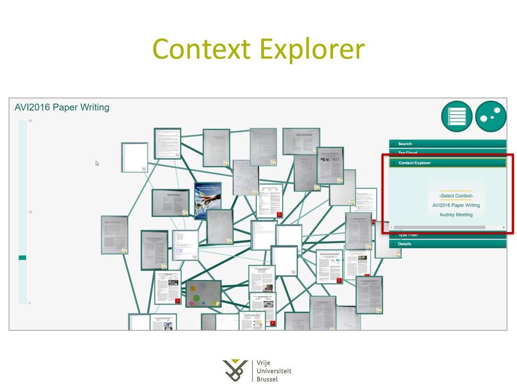 Context Explorer