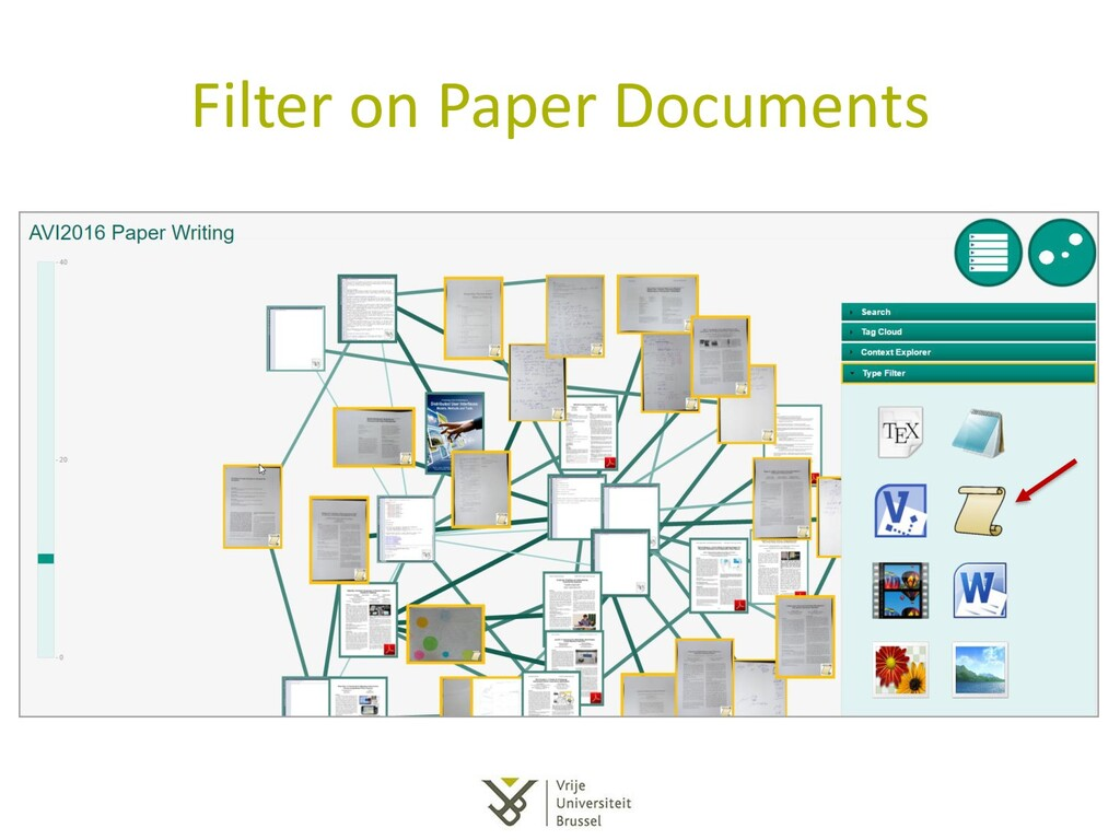 Filter on Paper Documents