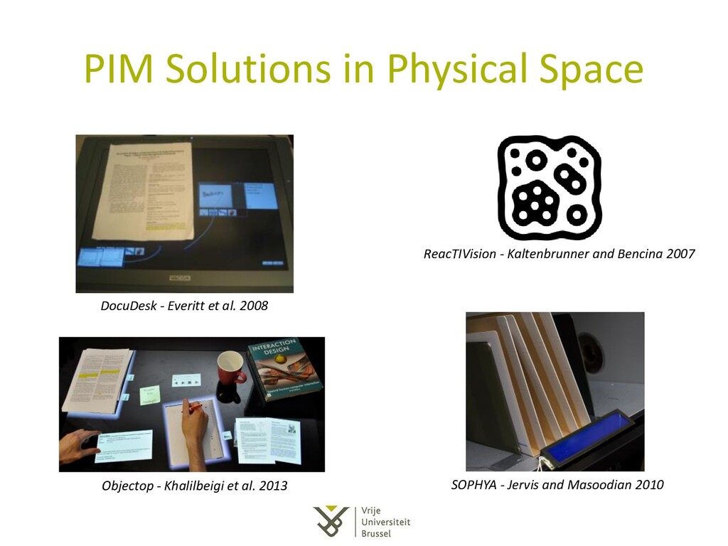 PIM Solutions in Physical Space SOPHYA - Jervis...