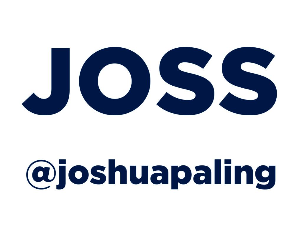 @joshuapaling JOSS